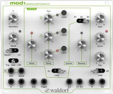 SynthesizerWaldorfMOD1 Modulator Module
