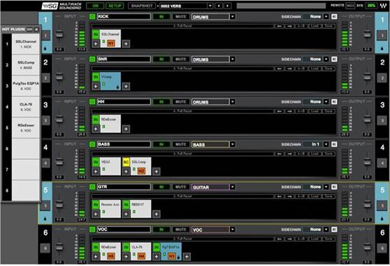 Plugins & Effects Waves MultiRack (License Only)