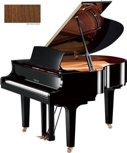 Πιάνο με ΟυράYamahaC1 X Καρυδιά Σατινέ