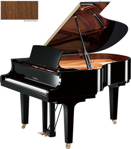 Πιάνο με ΟυράYamahaC2 X Καρυδιά Ματ