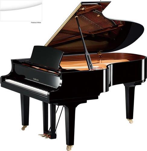 Πιάνο με ΟυράYamahaC5 X Λευκό Γυαλιστερό