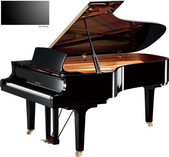 Πιάνο με ΟυράYamahaC7 X Μαύρο Σατινέ