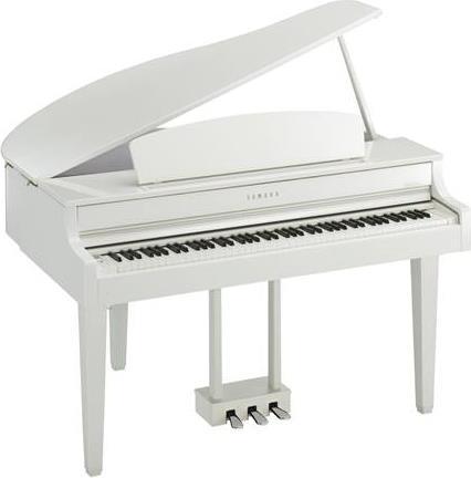 Ηλεκτρικό ΠιάνοYamahaCLP-665GP PWH(Ουρά) Polished White
