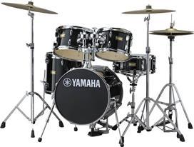 Yamaha JJK6F5 RB Manu Katche Raven Black Τύμπανα Junior Kit (Χωρίς Βάσεις)