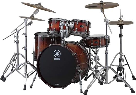 Ακουστικό Drum Set Yamaha Live Custom Studio Amber Shadow