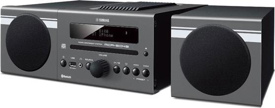 Mini ΗχοσύστημαYamahaMCR-B043 Dark Grey