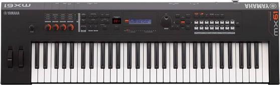 SynthesizerYamahaMX-61 II Black