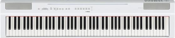 Ηλεκτρικό ΠιάνοYamahaP-125WH