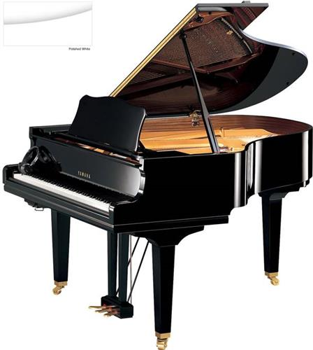 Silent ΠιάνοYamahaΥΑΜΑΗΑ GC2 SH Silent Λευκό Γυαλιστερό