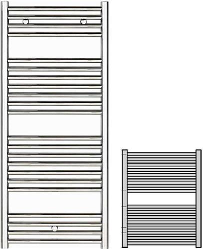 Σώμα ΛουτρούZehnderKlaro ZSL-080-045 Λευκό