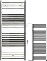 Zehnder Klaro ZSL-150-045 Λευκό