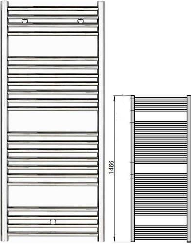 Σώμα ΛουτρούZehnderKlaro ZSL-150-060 Λευκό