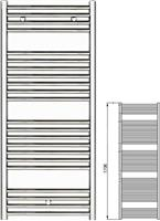Zehnder Klaro ZSL-170-075 Λευκό