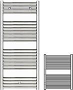 Zehnder Klaro ZSLC-080-060 Χρώμιο