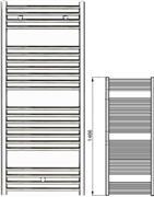 Zehnder Klaro ZSLC-150-060 Χρώμιο