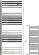 Zehnder Klaro ZSLC-170-060 Χρώμιο