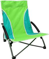 Abbey Camp Καρέκλα Παραλίας Αναδιπλούμενη (πράσινο/γαλάζιο)
