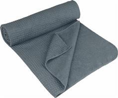 Avento Αντιολισθητική Πετσέτα Yoga (183x61cm) Γκρι