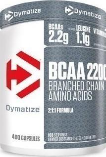 Dymatize BCAA 2200 400 caps