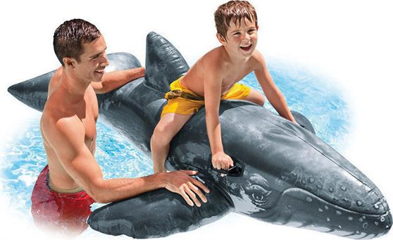 Intex 57530 Realistic Whale Ride-On