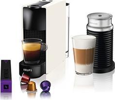 Krups Nespresso XN1111S Essenza Mini White & Δώρο κάψουλες Nespresso αξίας 30 ευρώ