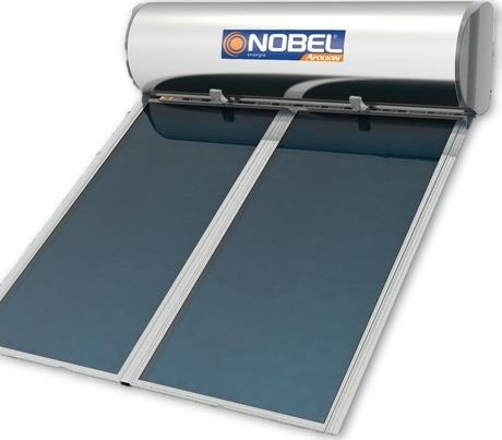 Nobel Apollon 320lt/4.0m² Glass Επιλεκτικός Διπλής Ενέργειας Ταράτσας