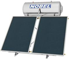 Nobel Classic 160lt/3.0m2 Glass Επιλεκτικός Διπλής Ενέργειας Ταράτσας