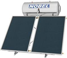 Nobel Classic 160lt/3.0m2 Glass Επιλεκτικός Τριπλής Ενέργειας Ταράτσας