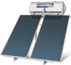 Nobel Classic 200lt/3.0m2 Glass Επιλεκτικός Διπλής Ενέργειας Ταράτσας
