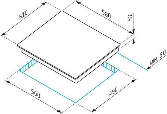 Pyramis 58HL 4003 Αφής Χωρίς Πλαίσιο