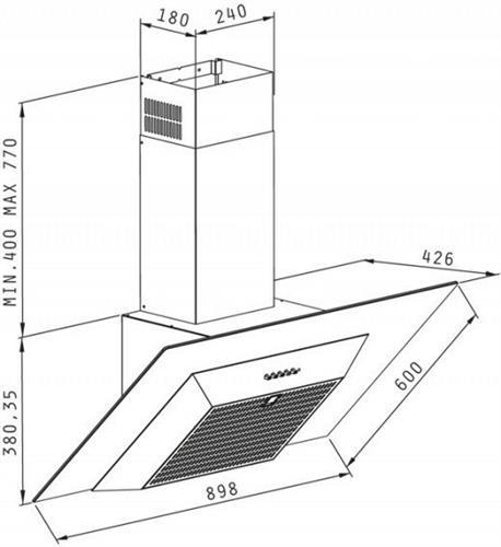 Pyramis Affiuso 90cm
