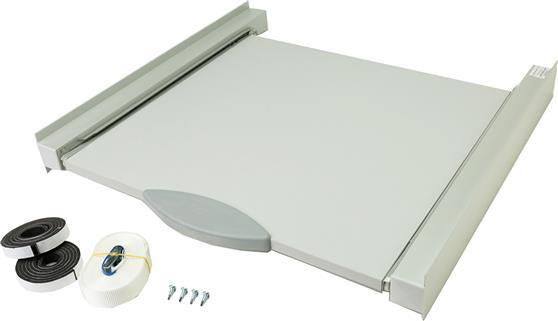 Roller Βάση Σύνδεσης Πλυντηρίου Στεγνωτηρίου Inox με Συρτάρι 726