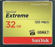 Sandisk Extreme 32GB 120/85MBs