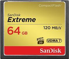 Sandisk Extreme 64GB 120/85MBs