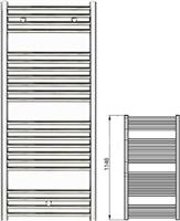 Zehnder Klaro ZSL-120-045 Λευκό